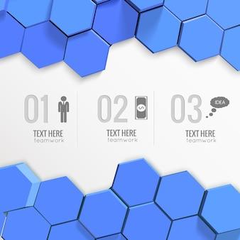 Infografiki pracy zespołowej z numerami i ikonami biznesowymi