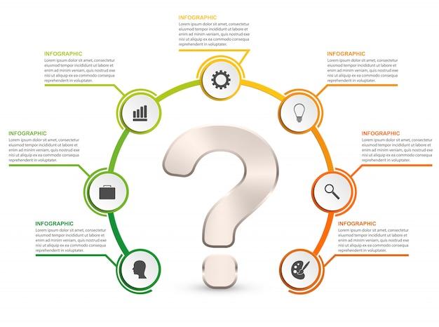 Infografiki prezentacji biznesowych lub baner informacyjny.