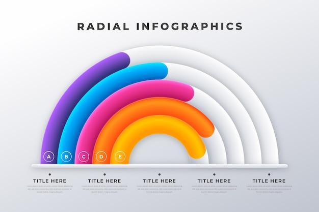 Infografiki promieniowe