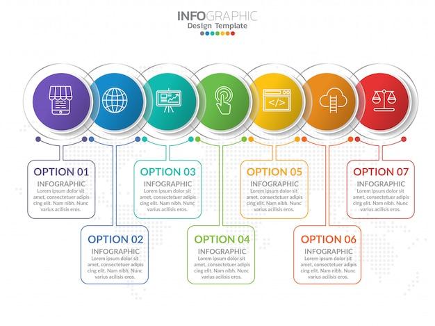 Infografiki z krokiem