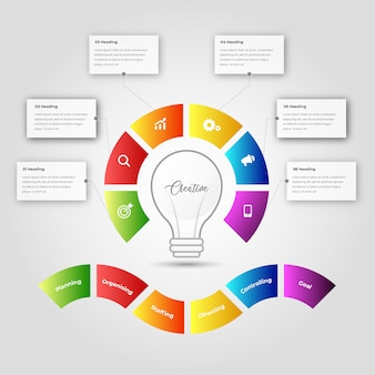 Infographi dla biznesu.