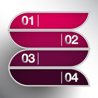 Infographic elementy projektowania