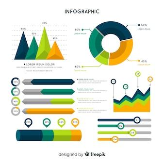 Infographic szablon