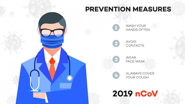 Informacja Infolinia Call Center Ncov (sars-cov-2, Covid-19, Koronawirus). Premium Wektorów