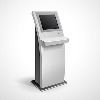 Informacja wyświetlacz stojak monitora
