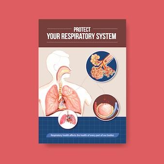 Informacje o anatomii układu oddechowego i zrozumienie niezbędnego układu