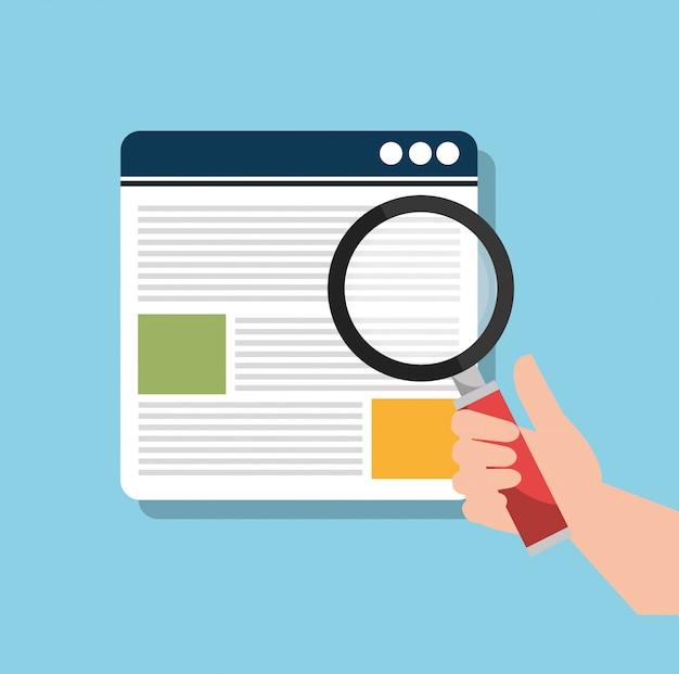 Informacje wyszukiwania analytics