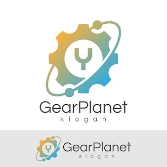 Inicjał inżynieryjny litera a projekt logo
