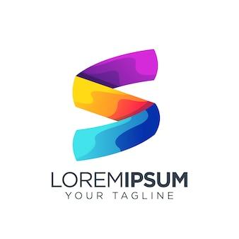 Inicjał logo litery