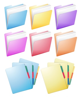 Inna konstrukcja folderów