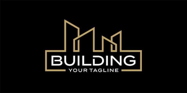 Inspiracja do projektowania logo architektury budynku