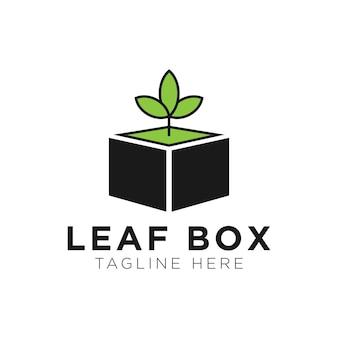 Inspiracja do projektowania logo liścia - wektor