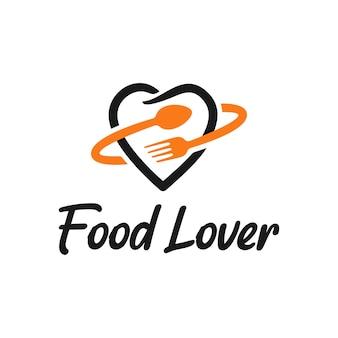 Inspiracja do projektowania logo miłośnika jedzenia