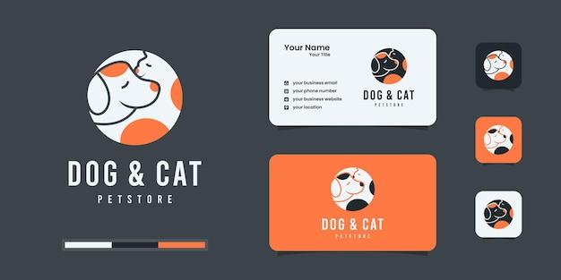 Inspiracja do projektowania logo psów i kotów
