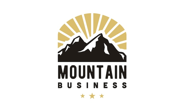 Inspiracja górskich logo