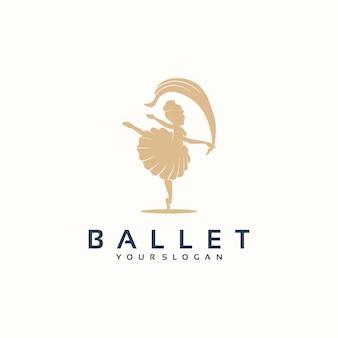 Inspiracja logo baletu dla biznesu