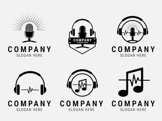 Inspiracja logo fali dźwiękowej