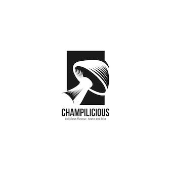 Inspiracja logo grzyby