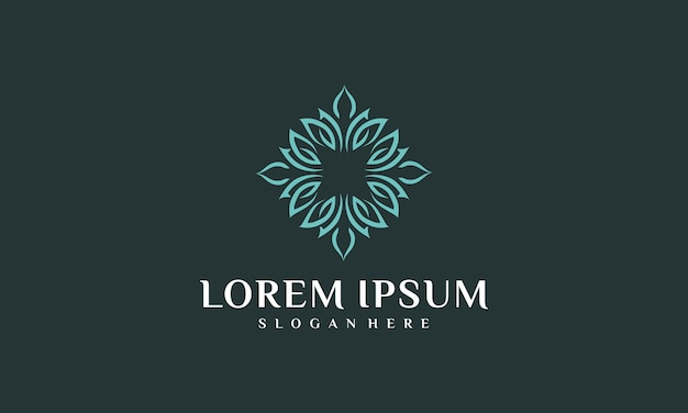 Inspiracja logo luksusowego wnętrza