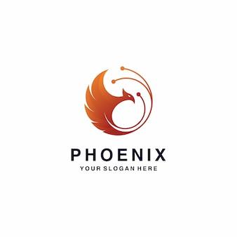 Inspiracja logo phoenix
