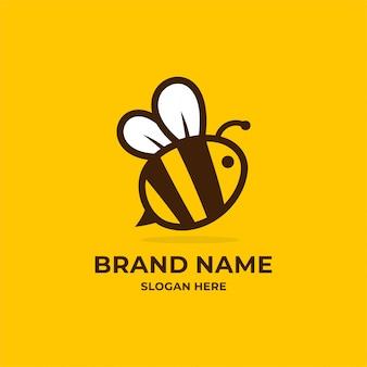 Inspiracja logo pszczoły.