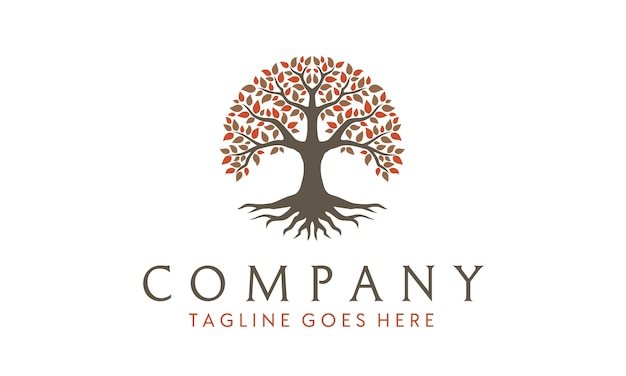 Inspiracja logo tree of life