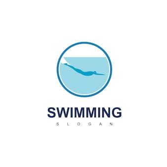 Inspiracje do projektowania logo pływania