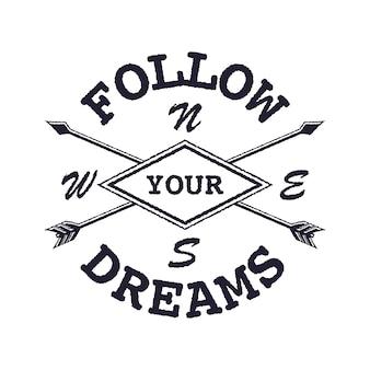 Inspirująca wycena snów podążaj za swoimi marzeniami