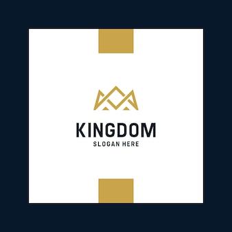 Inspirujące logo królewskie i koronowe