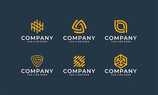 Inspirujące logo nowoczesnego pakietu