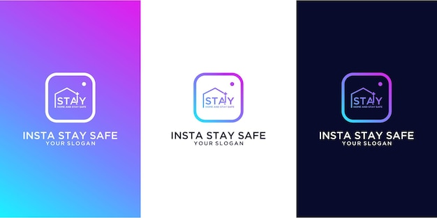 Insta bądź bezpieczny i zostań w domu