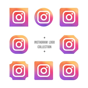 Instagram kolekcja logo