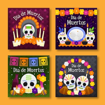 Instagram post pack day of the dead
