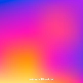 Instagram tło w kolorach gradientu