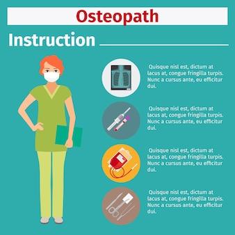 Instrukcja sprzętu medycznego dla osteopatii