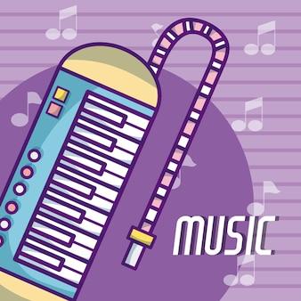 Instrument muzyczny melodica classical