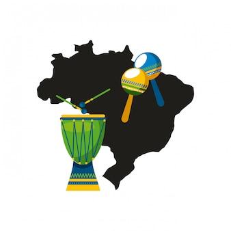 Instrument perkusyjny brazylii