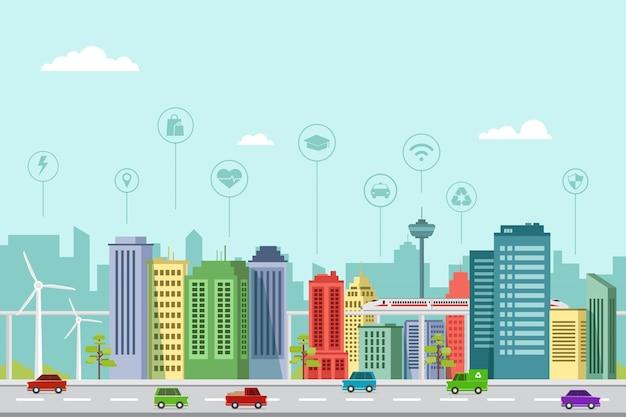 Inteligentne projektowanie płaskich budynków miejskich w przyszłości