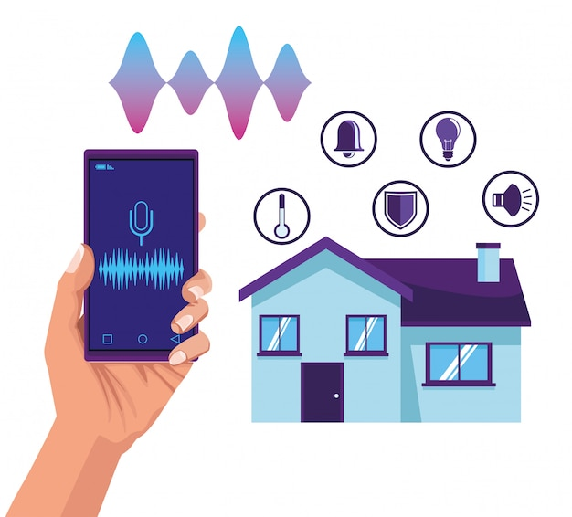 Inteligentne rozpoznawanie głosu w domu