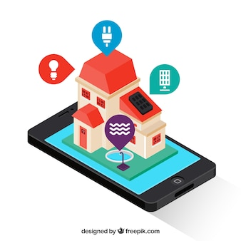 Inteligentny dom z kontrolą smartfona