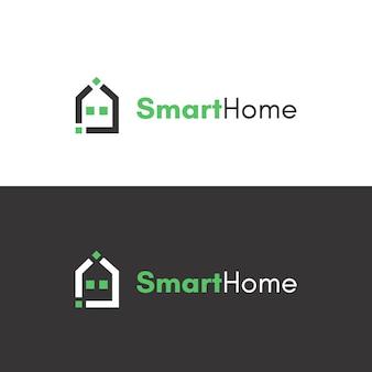 Inteligentny projekt logo domowej