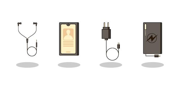 Inteligentny telefon i zestaw urządzeń