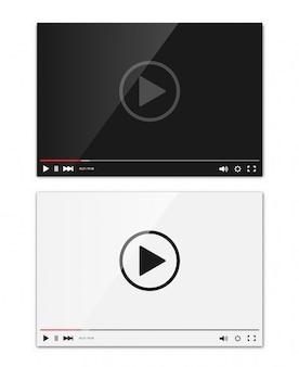 Interfejs odtwarzacza wideo