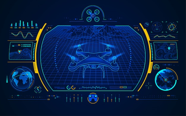Interfejs sterowania dronem