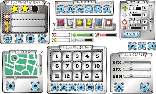 Interfejs użytkownika gry platformowej
