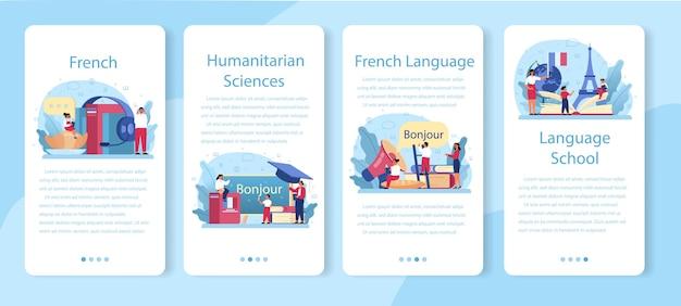 Internetowa usługa lub platforma do nauki francuskiego