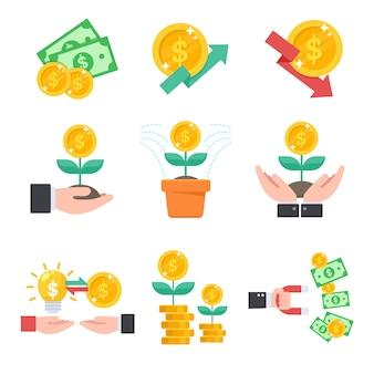Inwestowanie, zarządzanie finansami za pomocą inwestycji jest jak sadzenie drzew.