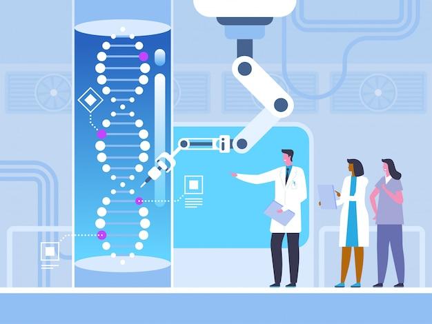 Inżynieria genetyczna w stylu płaskiej
