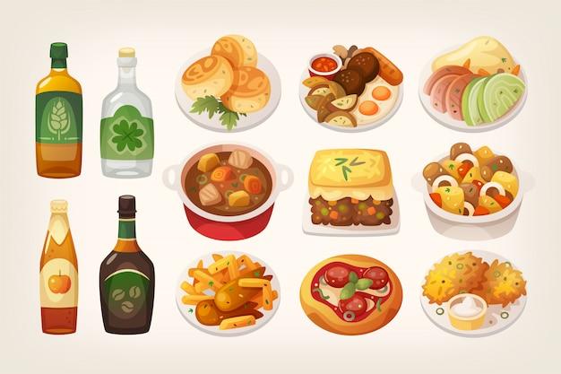 Irlandzkie jedzenie
