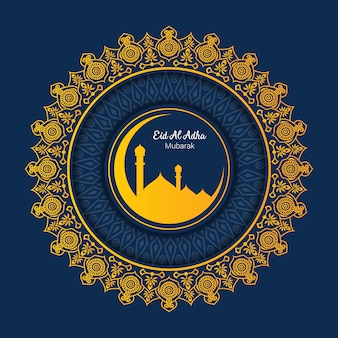 Islamska pielgrzymka dla pozdrowienia eid al adha